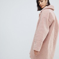 Paul & Joe Sister teddy fur coat at asos.com
