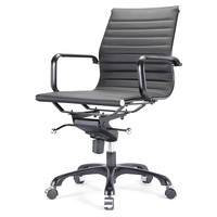 Due Office Chair, Black/Black, Desk Chairs