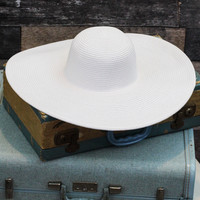 Let's Go to Cancun Hat in White