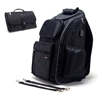 The Ultimate Backpack for Moms & Dads Diaper Bag/Backpack/Travel Bag/ Everday Bag By Jazame