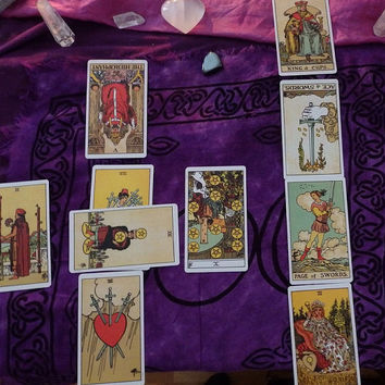 Relationship Tarot Reading - 10 card detailed via email