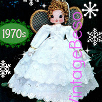 Digital Pattern • Christmas Angel for top of the tree plus Easy to Make Fabric Ornaments 6 variations Instant Download PDF SEW Patterns Fun