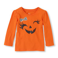 pumpkin face graphic tee | US Store