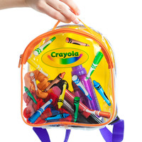 Vintage 90's Crayola Clear Mini Backpack