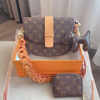 Louis Vuitton LV three-piece personality all-match shoulder bag