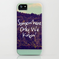Somewhere iPhone Case by Rachel Burbee | Society6