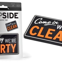 Clean or Dirty Double Sided Dishwasher Magnet