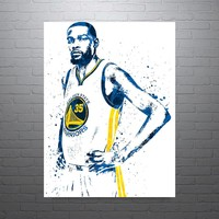 Kevin Durant Golden State Warriors Home Poster