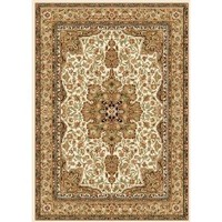 Home Dynamix Royalty 8083-100 Ivory 3-Feet 7-Inch by 5-Feet 2-Inch Traditional Area Rug $39.99