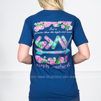 God Is Greater  | Navy | Simply Southern