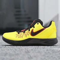 Nike Kyrie FlyTrap 2 New fashion hook sports leisure men shoes Yellow