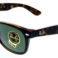 Ray Ban Tortoise New Wayfarer Sunglasses
