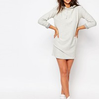 Missguided Hooded Sweater Dress