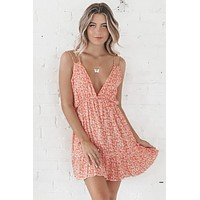 Running Through My Mind Ruffled Mini Dress