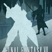 Vector Final Fantasy VII Art Print by LoweakGraph