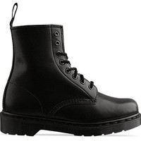 Dr. Martens 8 Eye Boot in Black at Solestruck.com