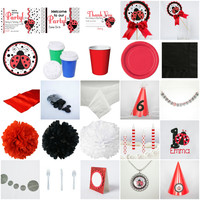 Kid Birthday Ladybug Ultimate Party-in-a-box