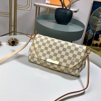 Kuyou Lv Louis Vuitton Fashion Women Men Gb19530 N41275 Favorite Mm 28.0 X 17.0 X 6.0 Cm