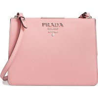 Prada City Saffiano Leather Frame Crossbody Bag | Nordstrom