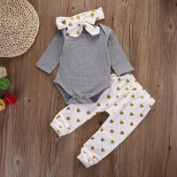 Love Pattern - Three Piece Set