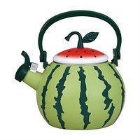 Watermelon Whistling Tea Kettle