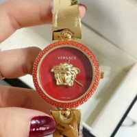 VERSACE  Red Watch Ladies Men Watch Little Ltaly Stylish Watch