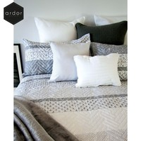Brooklyn Embossed Quilt Cover Set by Ardor