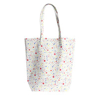 I liked this design on #Fab. Leather Tote Space Confetti
