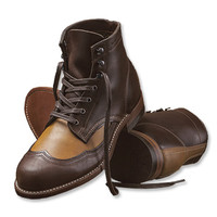 1000 Mile Brogue Boots / Wolverine® 1000 Mile Two-Tone Brogues -- Orvis