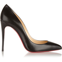 Christian Louboutin - Pigalle Follies 100 leather pumps