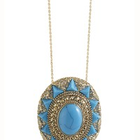 House of Harlow 1960 Jewelry Wari Ruins Pendant Necklace