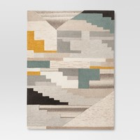 Multicolor Abstract Tufted Area Rug - Project 62™