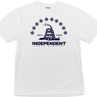 Independent Republic Tee Small White