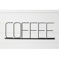 Coffee Word Sign Wall Hanging