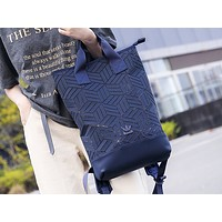 ADIDAS popular casual lady shopping bag fashion patchwork pattern gradient shoulder bag #1