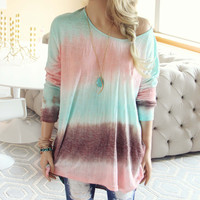 Ombre Tide Tee