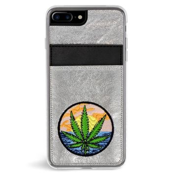Baked Wallet Embroidered iPhone 7/8 Plus Case