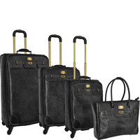 Adrienne Vittadini Sutton Place 4pc Luggage Set - eBags.com