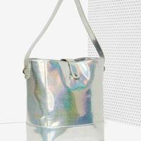 Nasty Gal x Nila Anthony Out of this World Hologram Tote
