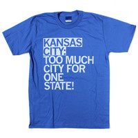 Too Much City KC Text