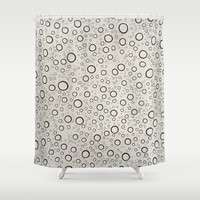 Raindrops Shower Curtain by One Artsy Momma