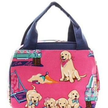 Lunch Tote Puppy