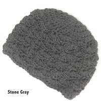 Scallop Hand Knit Hat