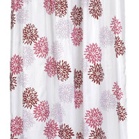 "Multi Color Print X- Long 70"" x 84"" Shower Curtain"