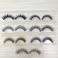 Hot 7 Pairs False Eyelashes Set Mix 7 Designs Handmade Fake Lashes Makeup Beauty Eyelash Extension Faux Lash V-20