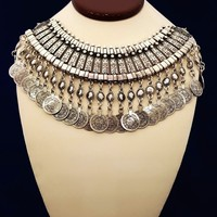 Bohemian Silver necklace