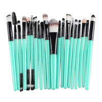 Newly Design 20pcs Cosmetic Makeup Brush Set tools Make-up Toiletry Kit Wooden Beauty Brushes 160518