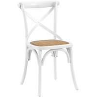Gear Dining Side Chair White