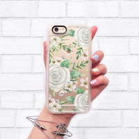 Floral iPhone 6s & 6s Plus Case (White Roses Watercolor Pattern) by Casetify