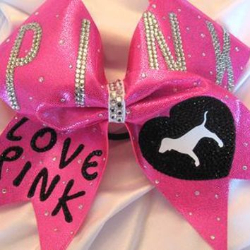Glitter Girl Bows | Cheer Bows | Custom Bows | Hair Bows